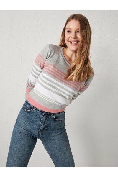 Kadın Gri Sweatshirt