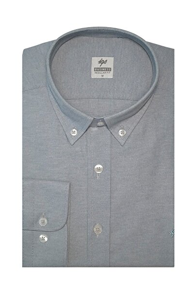 Erkek Taş Regularfıt / Rahat Kalıp Std Gömlek