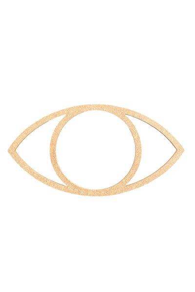 30cm Düz Göz Kesim Boyanabilir Ham Mdf