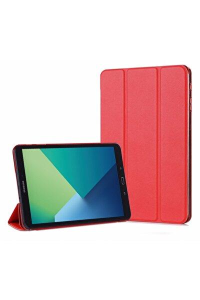 Galaxy Tab A 10.1'' P580 Smart Case Ve Arka Kılıf, Microsonic Kırmızı