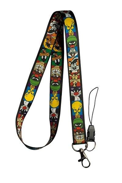 Looney Tunes Boyun Ipi Ve Telefon Askısı