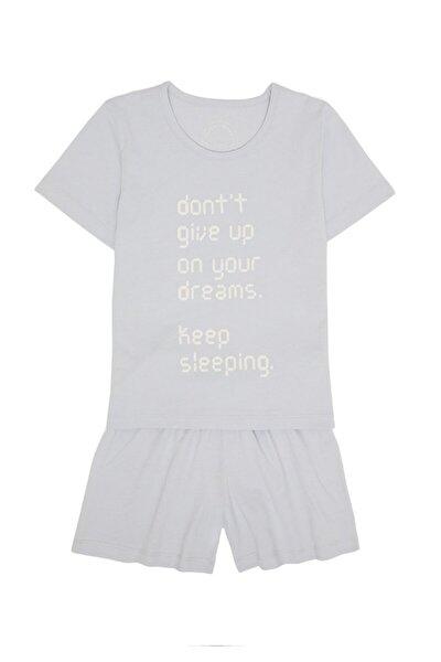 Keep Sleeping Kız Çocuk Şort Set - Mavi