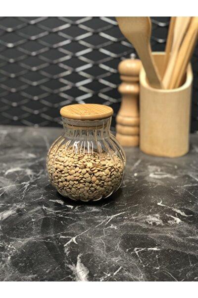 Pino 1500 ml Cam Bambu Kapaklı Kavanoz 12360 Fma02156