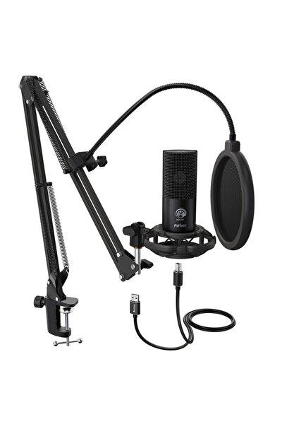 T669 Profesyonel Stüdyo Kayıt Mikrofon Seti, Youtuber - Podcast - Skype- Oyuncu Mikrofonu