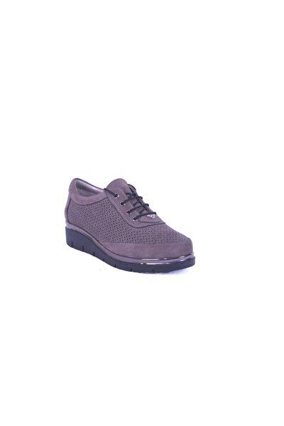 Vizon Kadın Hakiki Deri Günlük Ayakkabı 074.838