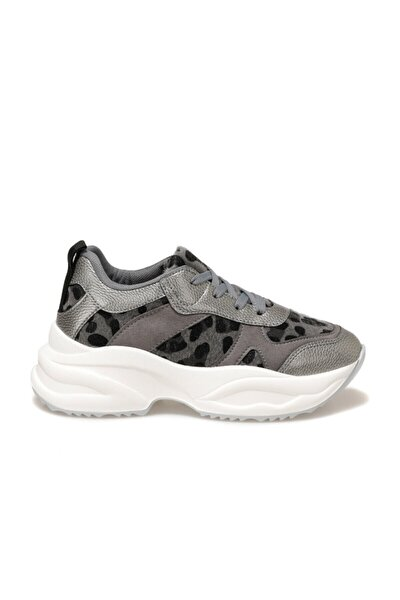 Visola Antrasit Kadın Fashion Sneaker