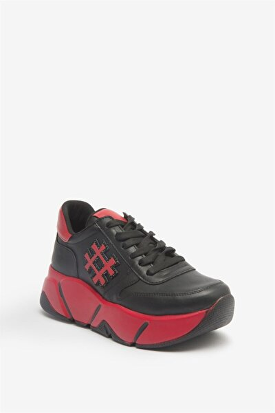 Rosa Mat Sneaker Kırmızı