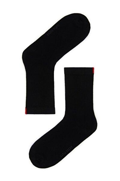 Harold Bambu Kadın Soket Çorap - Siyah
