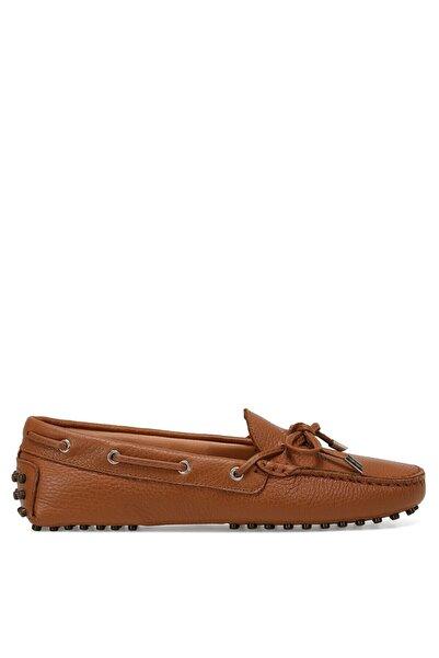 HOLT Taba Kadın Loafer Ayakkabı 100526085