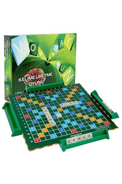 Kelime Üretme Oyunu Yerli Üretim Türkçe Scrabble Kelime Avı