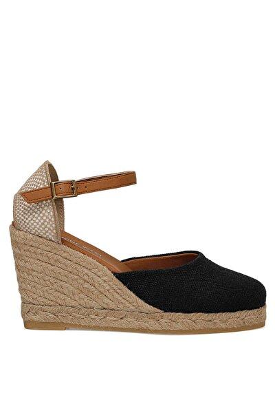 ARTEMISIA Siyah Kadın Dolgu Topuk Sandalet 100525925