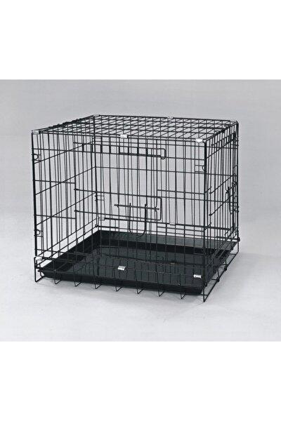 Köpek Kafesi Siyah 61x44x50