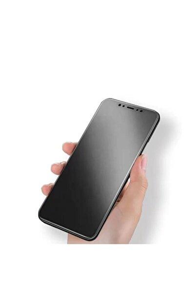 Iphone 12 (6.1)mat Seramik Nano Tam Kaplayan Full Ekran Koruyucu Siyah