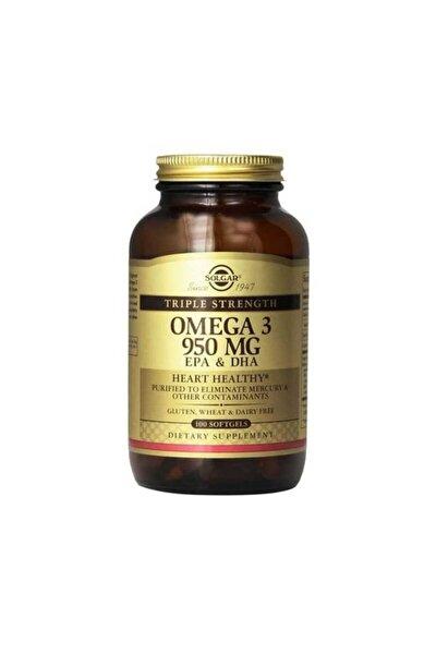 Omega-3 950 Mg 100 Kapsül