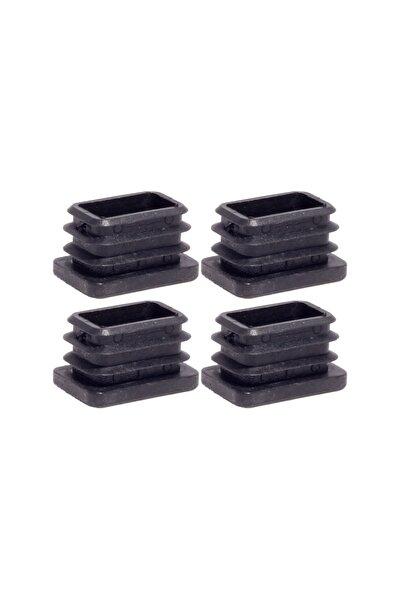20x30 Mm Plastik Dikdörtgen Içe Geçme Profil Tapası (kutu) (4 Adet)