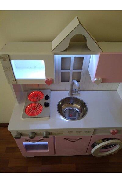 Oyuncak Mutfak Model-2 Set Led Işıklı Ocak