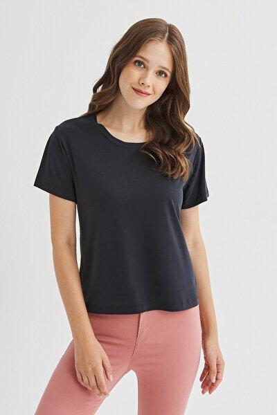 Siyah Cupro Tişört