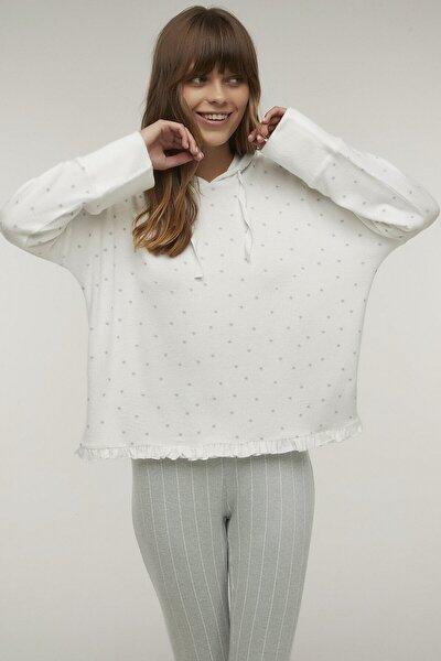 Beyaz Bright Stars Sweatshirt