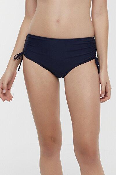 Lacivert Basic Yüksek Bel Ring Bikini Altı