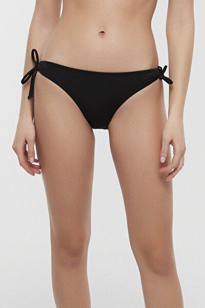 Siyah Basic Ring Bikini Altı