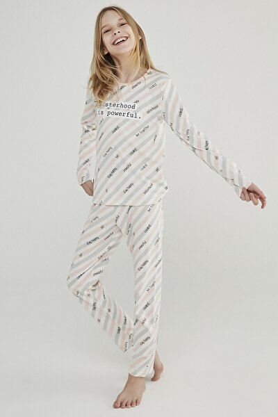 Çok Renkli Teen Sısterhood 2li Pijama Takımı