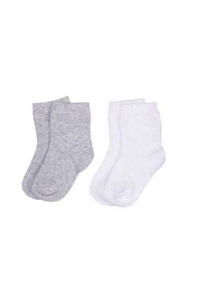 Organik 2li Çorap 52060 Gri