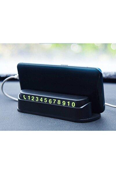 -araç Içi Numaratör Fosforlu Ve Telefon Tutucu