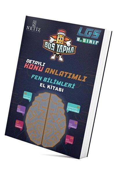 Netiz Yayıncılık Konu Anlatımlı Fen Bilimleri El Kitabı 2020