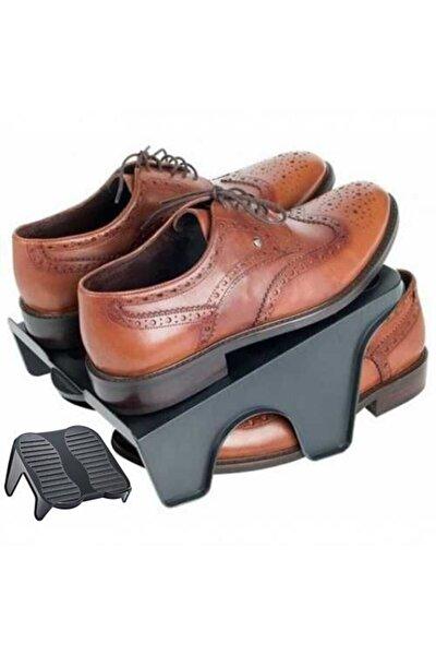 Ayakkabı Rafı Çift Ayakkabı Tutucu Ayakkabı Rampası 24 Adet