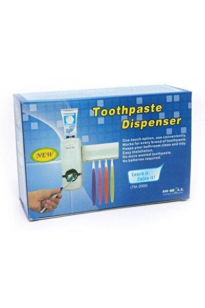 Otomatik Diş Macunu Sıkacağı Ve Diş Fırçalığı 5 'li