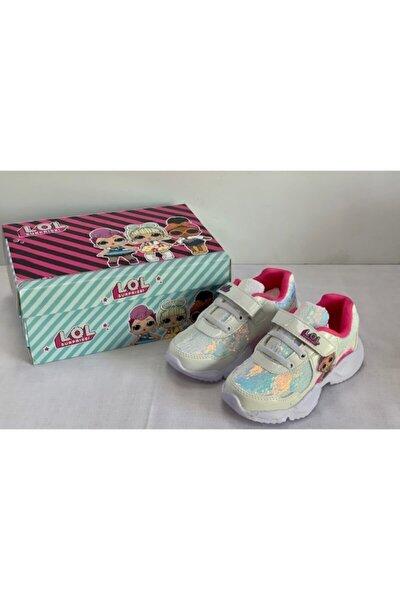 L.o.l Beyaz Pullu Hafif Kız Çocuk Beyaz Spor Ayakkabısı I P1fx