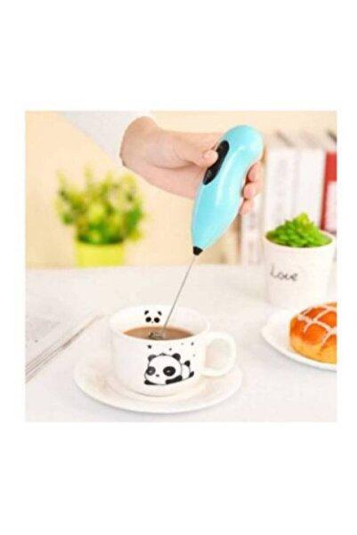 Mini Mikser Kahve Süt Köpürtücü Karıştırıcı Cappucino Mixer Pilli Çırpıcı