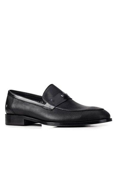 Kösele 367 Enj Taban Ayakkabı-(ms)-siyah Baby Bufalo