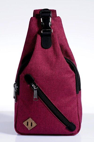 Mpkms9052 Bordo Unısex Body Bag