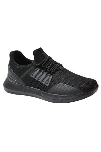 2338 Siyah Anatomik (40-44) Erkek Spor Ayakkabı