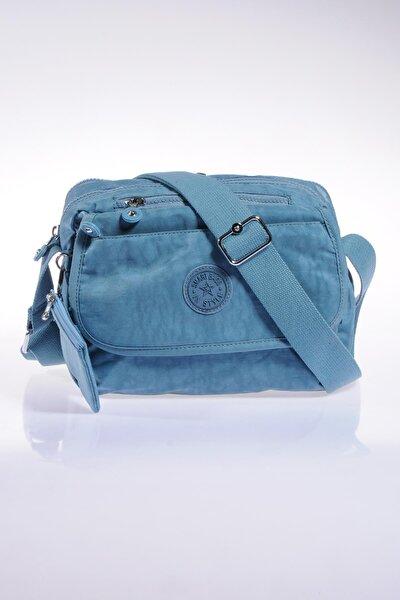 Smb1172-0050 N.buz Mavi Kadın Çapraz Çanta
