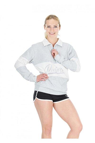 Cloud 1/4 Zip Kadın Sweatshirt