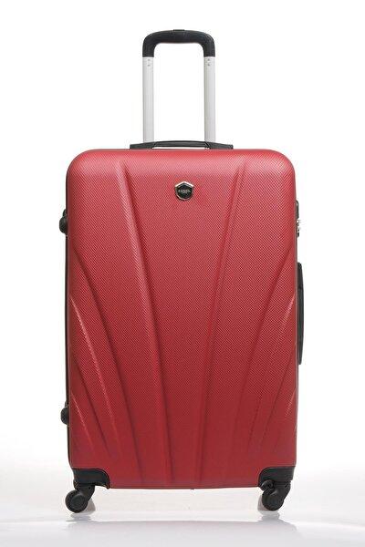 Fsy1119y-l Bordo Unisex Büyük Boy Bavul