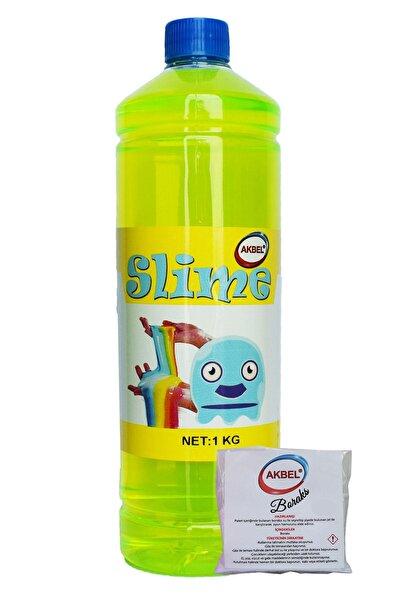 Slime Şaka Hamuru Yeşil + 25 gr Boraks