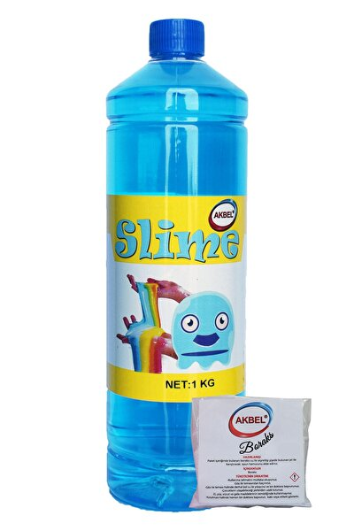 Slime Şaka Hamuru Mavi 1kg
