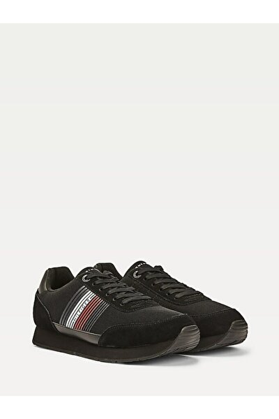 Erkek Th Corporate Material Mix Runner Sneaker