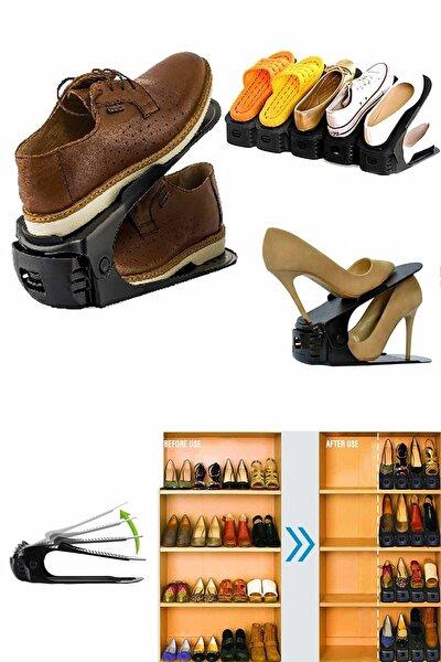 Ayarlanabilir Ayakkabı Düzenleyici Rampa Plastik Ayakkabı Rampası Organizer