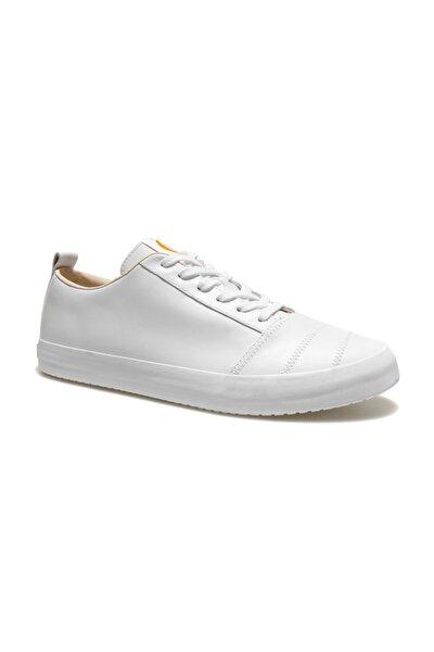 Kadın Beyaz Hakiki Deri Sneaker K200930