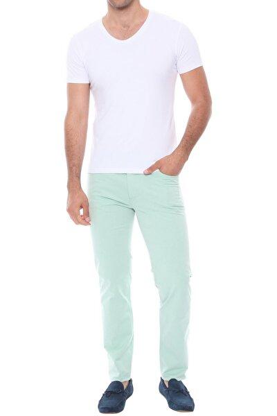 Erkek Yeşil Slim Fit Spor Pantolon P 968