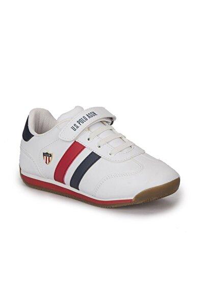 Bonı Beyaz Erkek Çocuk Yürüyüş Ayakkabısı