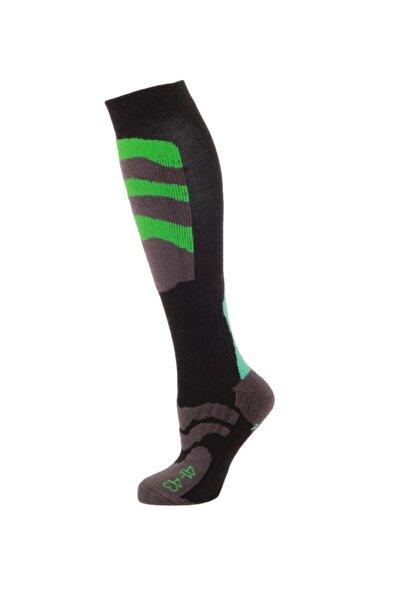Ski Socks Erkek Kayak Çorap Yeşil/mavi