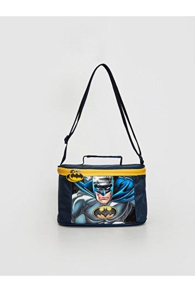 Batman Erkek Çocuk Gri Melanj D5C Beslenme Çantası