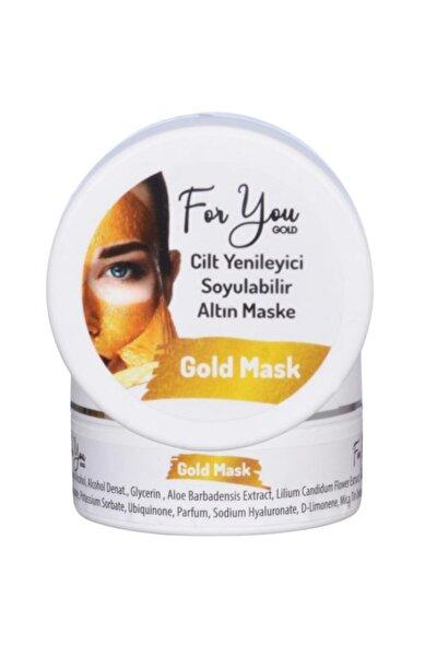 Altın Maske Kırışıklık Yaşlanma Karşıtı Anti Aging Mucize