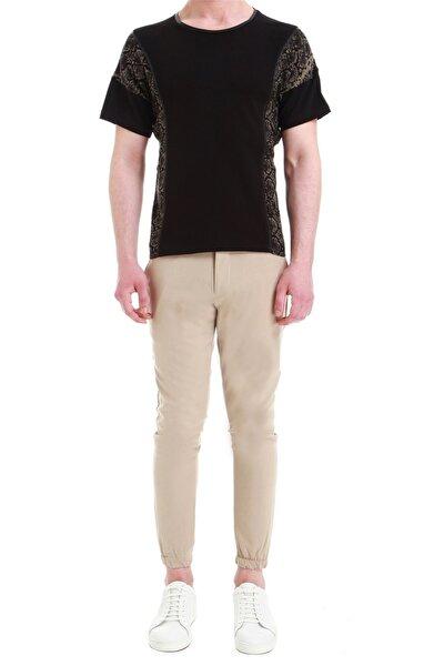Atp 03 Slim Fit Kum Beji Spor Pantolon