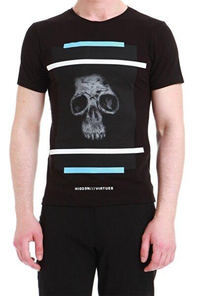 Ts 750 Slim Fit Siyah Spor T-shirt